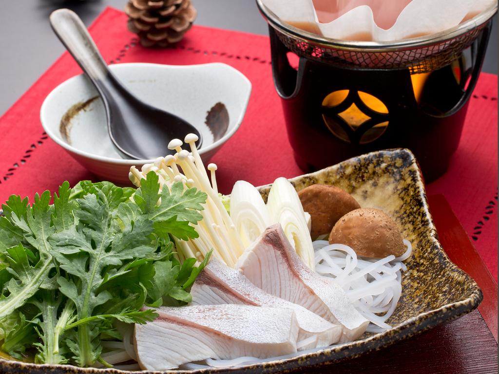 *【和食会席:鰤のコチジャン和風鍋】