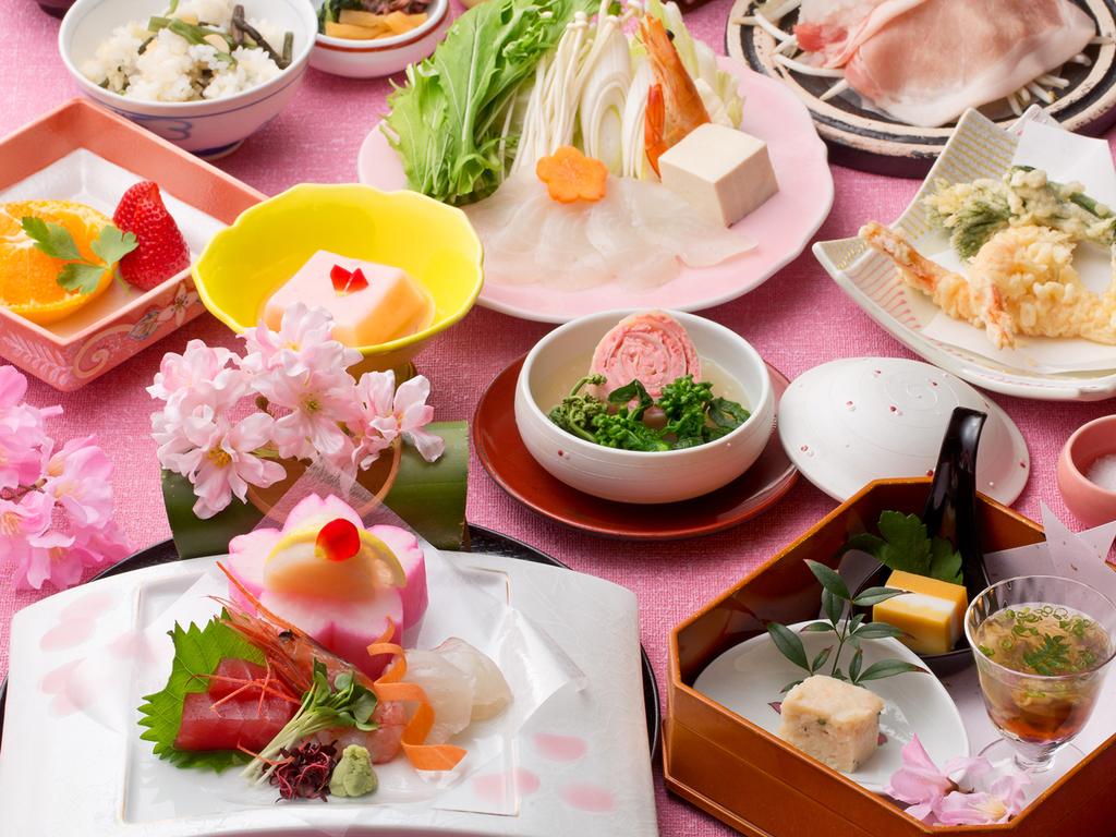 *【和食会席:春(一例)】