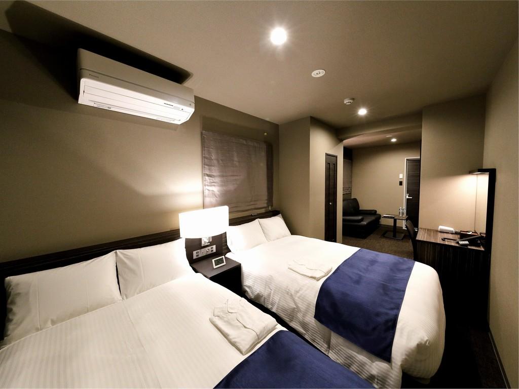 ■ツインルーム 寝室