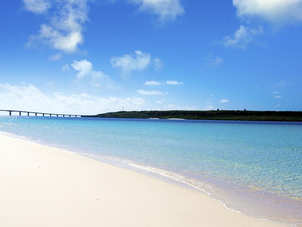日本一美しいと言われる宮古島