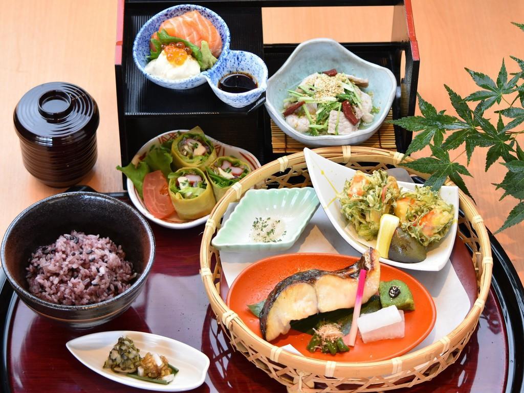 夕食 京都地産地消御膳「京の舞」