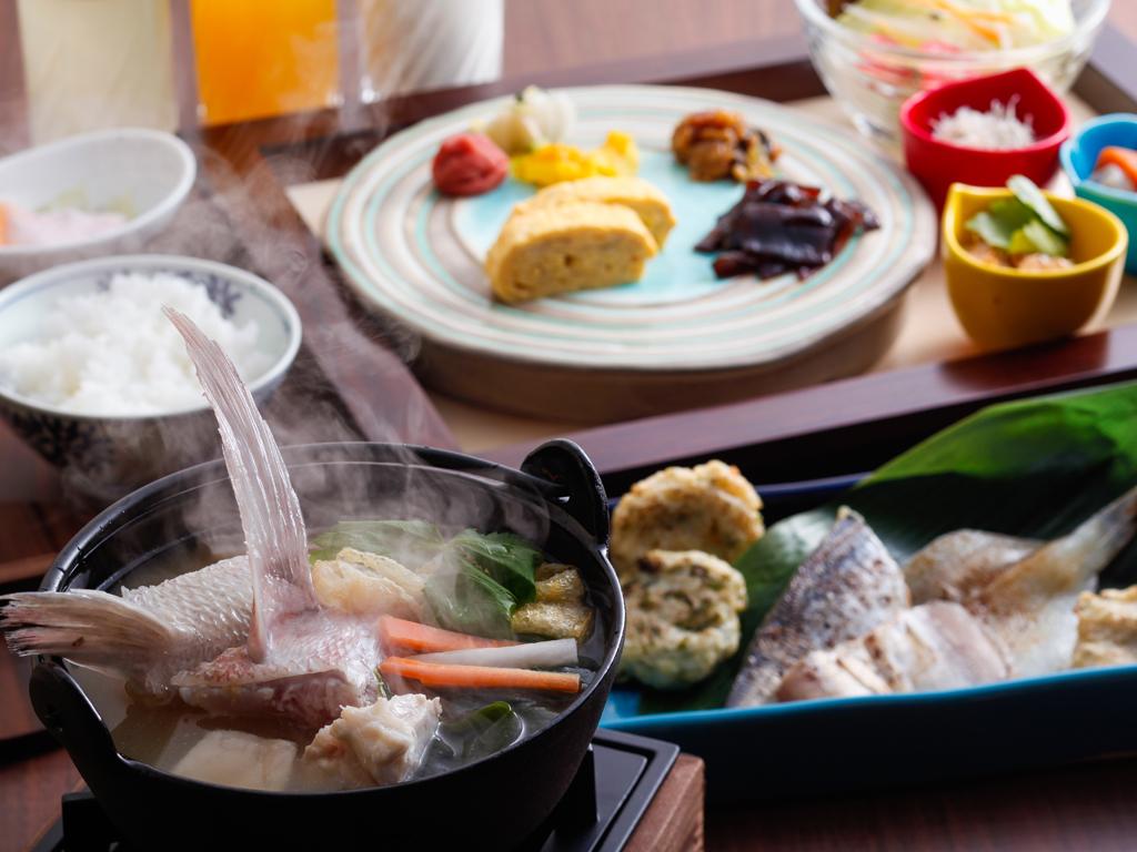 漁師汁で温まる和朝食セット(朝食イメージ)