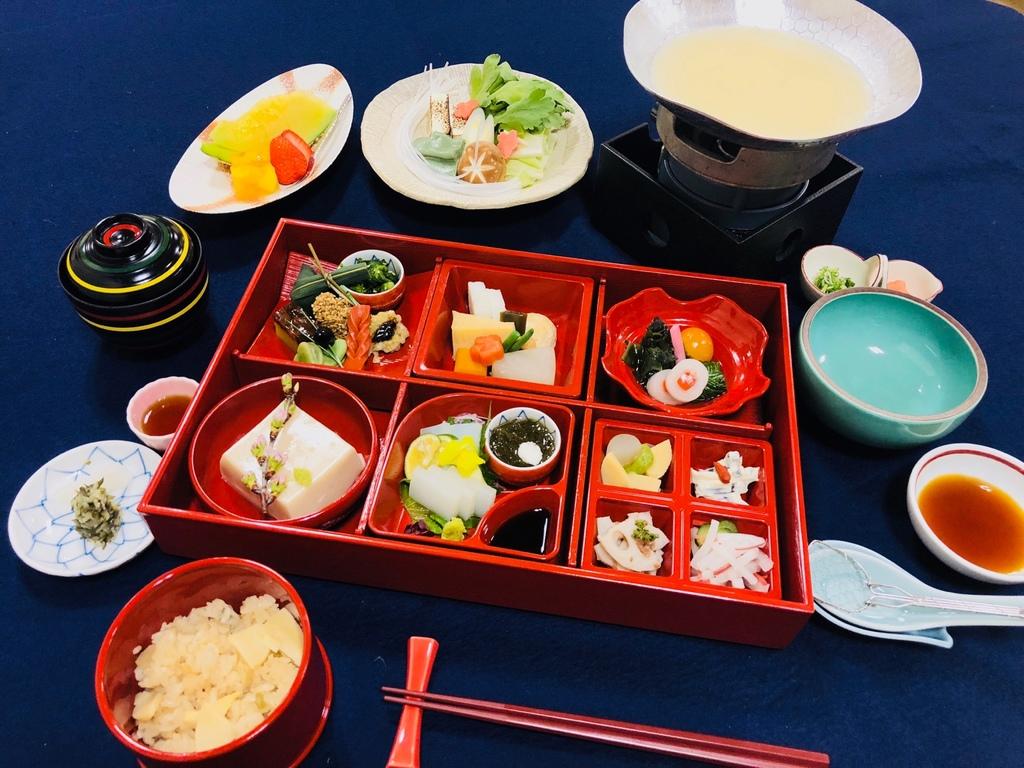 京懐石「和光庵」の絶品精進料理