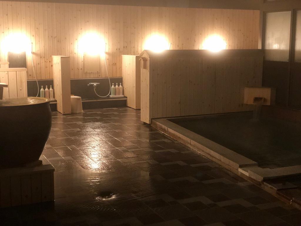 大浴場2階から
