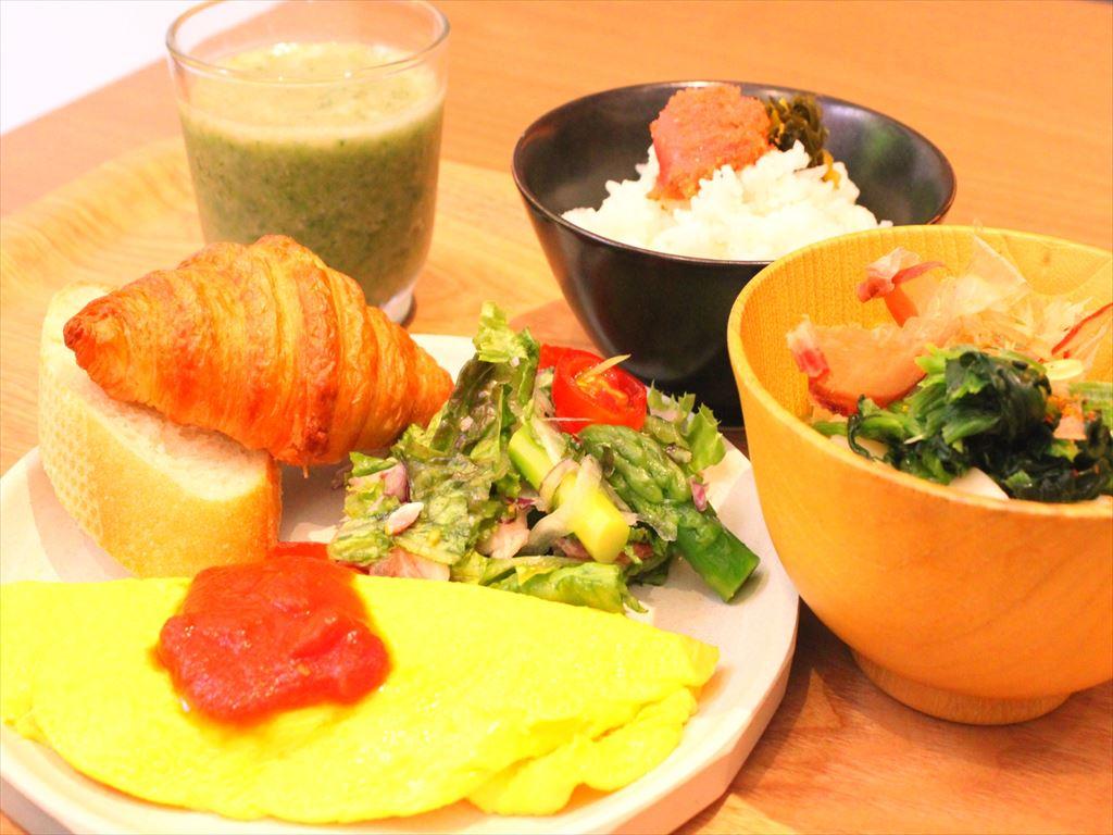 【朝食】和洋ブッフェ<一例>