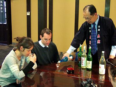 春鹿酒造 利き酒