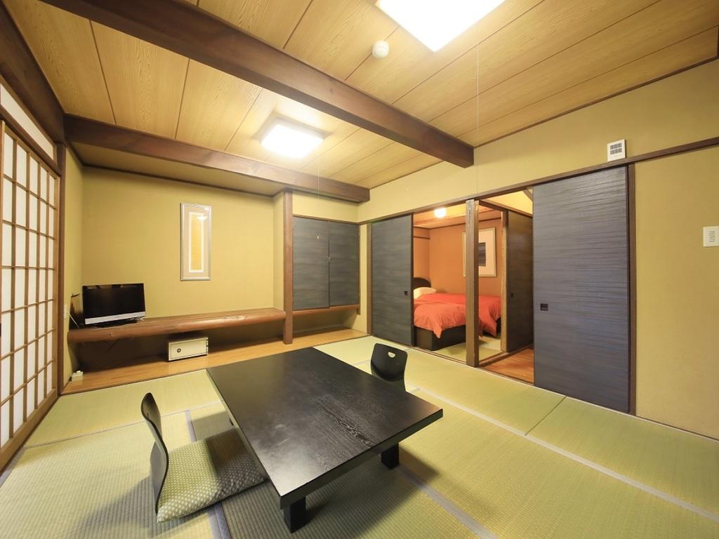 お部屋は50〜60平米でグループ旅にもオススメ