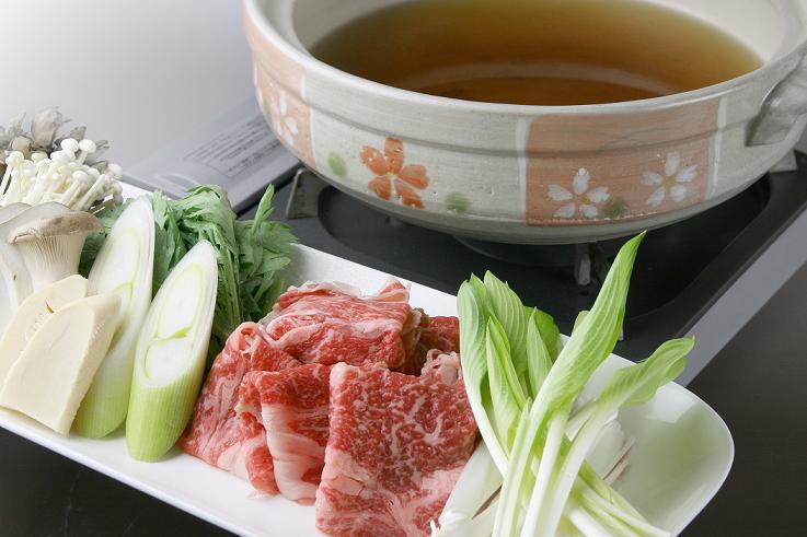 上州牛すき焼きをメインとした和食膳