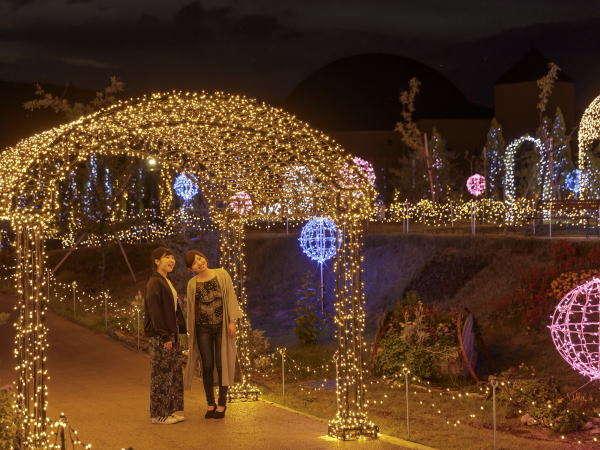 ロマンチックな光のゲート!