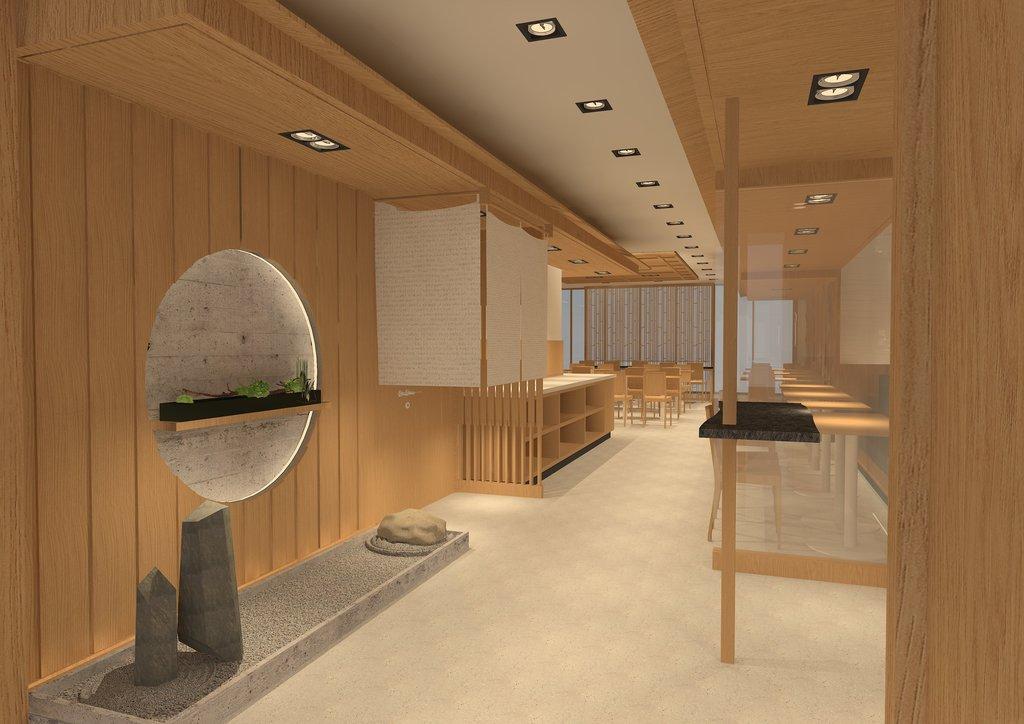 和の雰囲気が漂うレストラン(イメージ)