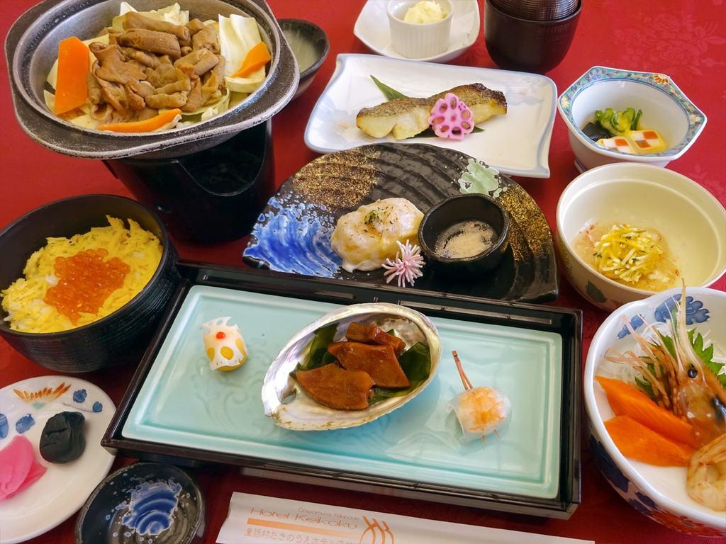 【夕食の一例】スタンダード和食膳