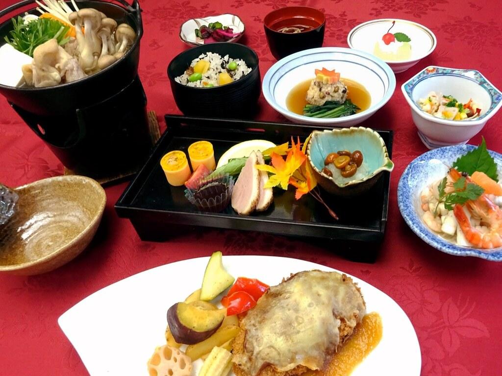 【夕食の一例】ライト和食膳