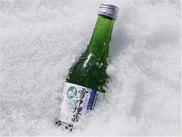 白馬錦の夏酒 雪中埋蔵です♪