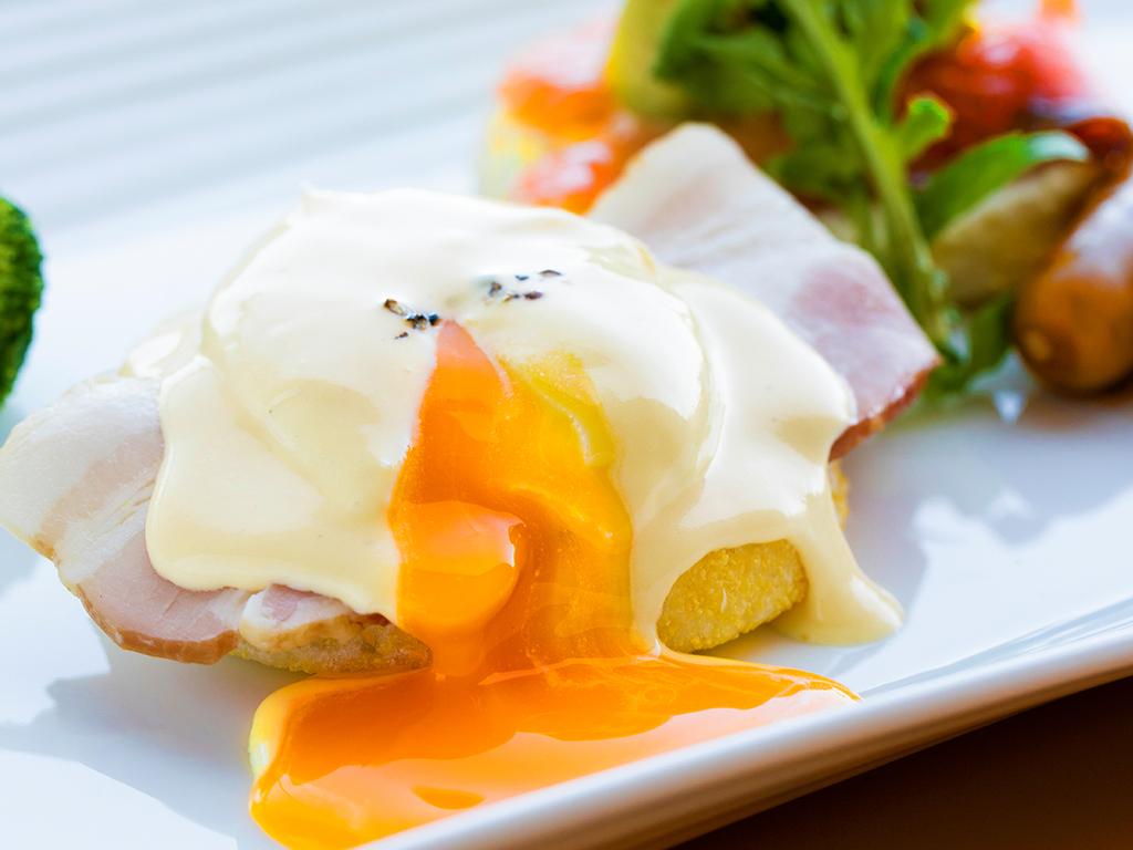 ■洋朝食(エッグベネディクト)■