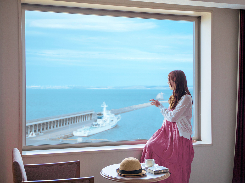 ■滞在イメージ(海側客室)■
