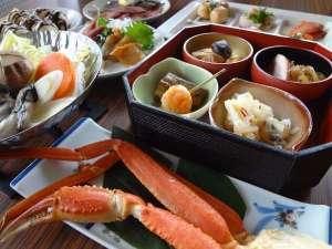 ミニ和食膳+ずわい蟹