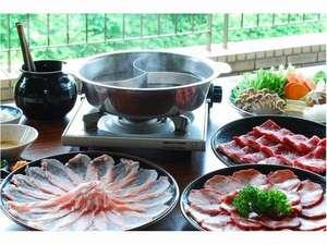 しゃぶしゃぶと牡蠣鍋