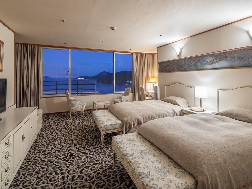 「嬉春亭」貴賓室 寿の間ベッドルーム