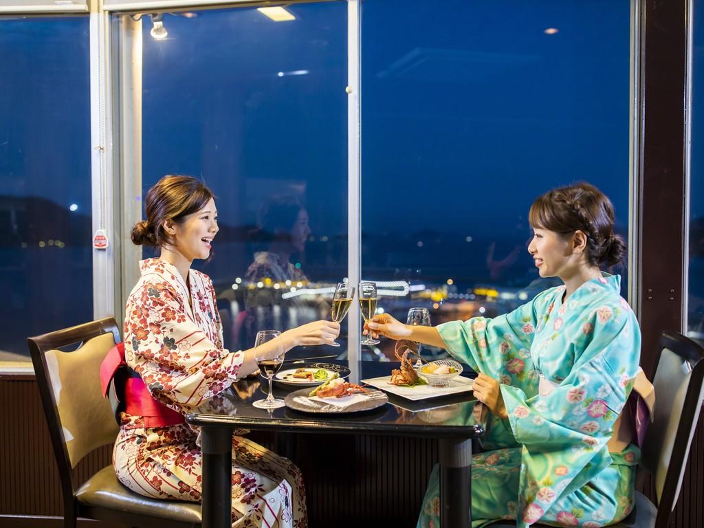 回転展望レストラン「東風と海」