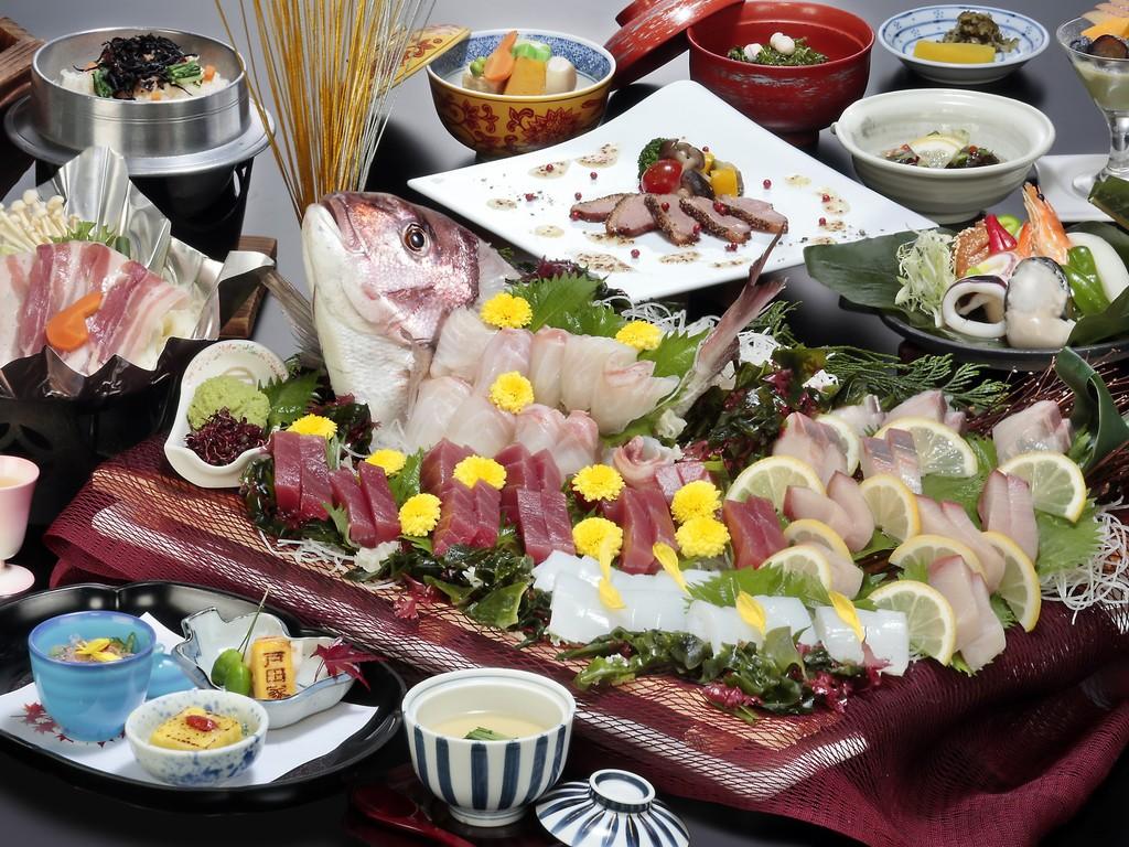 漁火会席(イメージ)