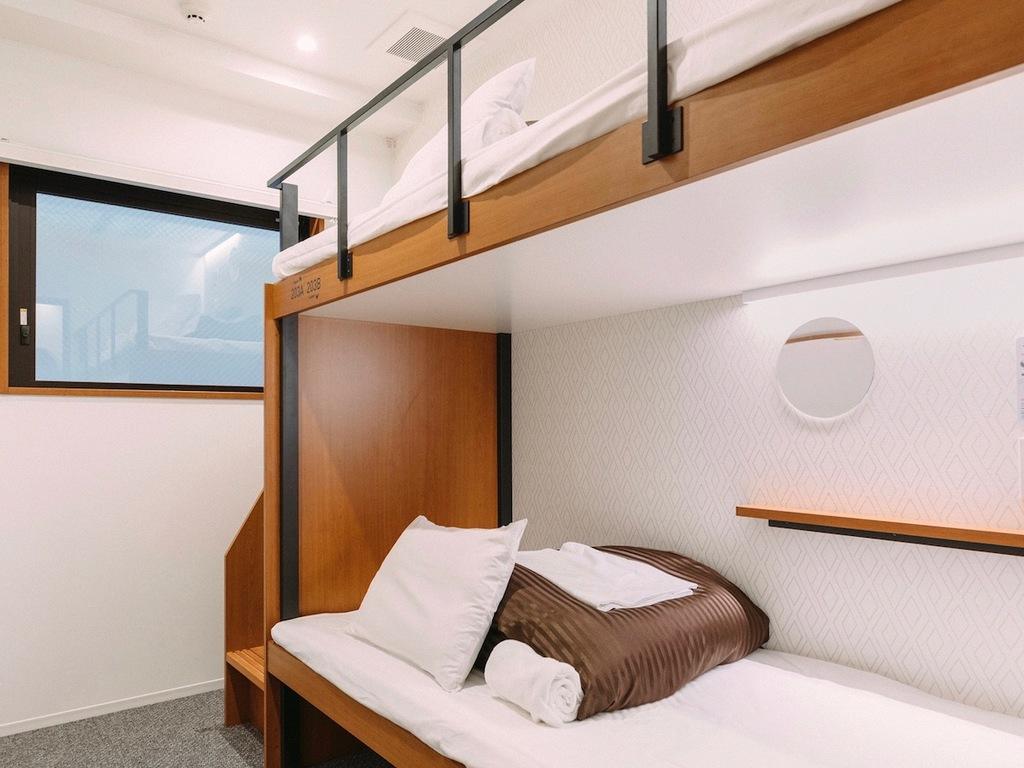 2段ベッド個室(スタンダードツイン・2段ベッド)