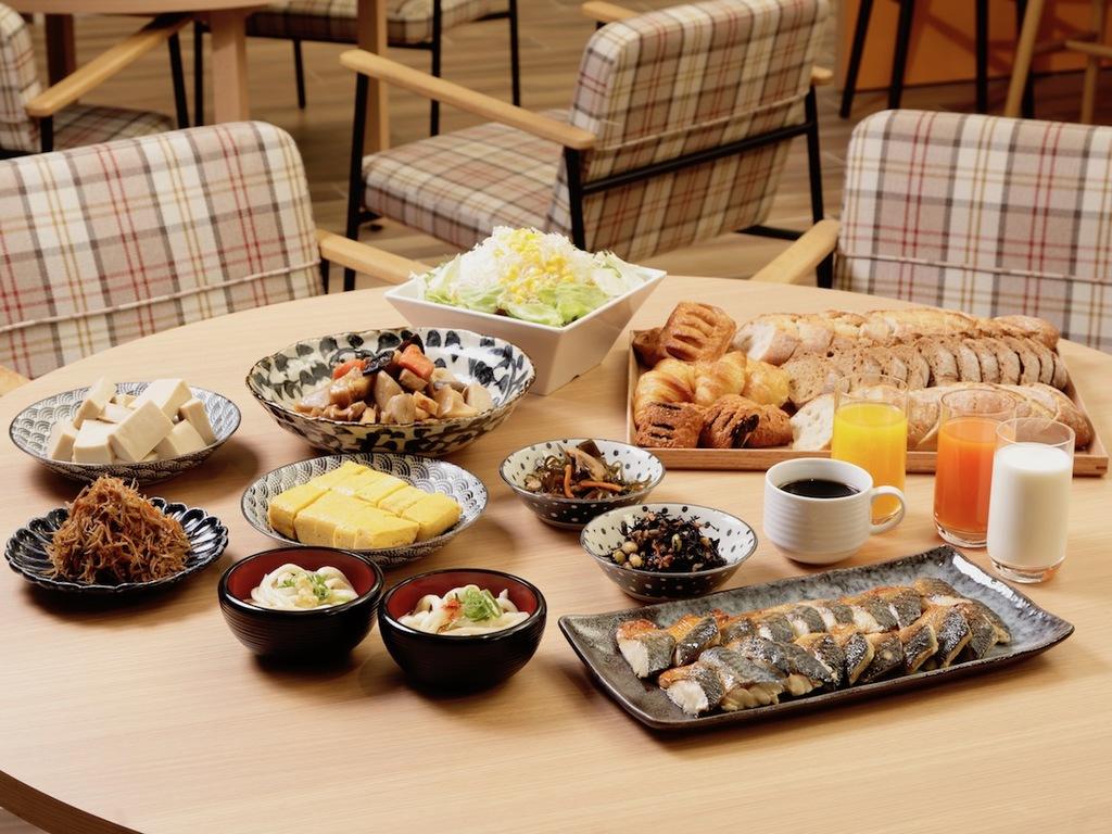 【朝食】和食を中心としてブッフェスタイル