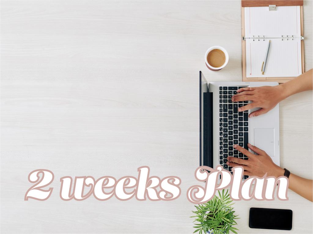 2weeks Plan