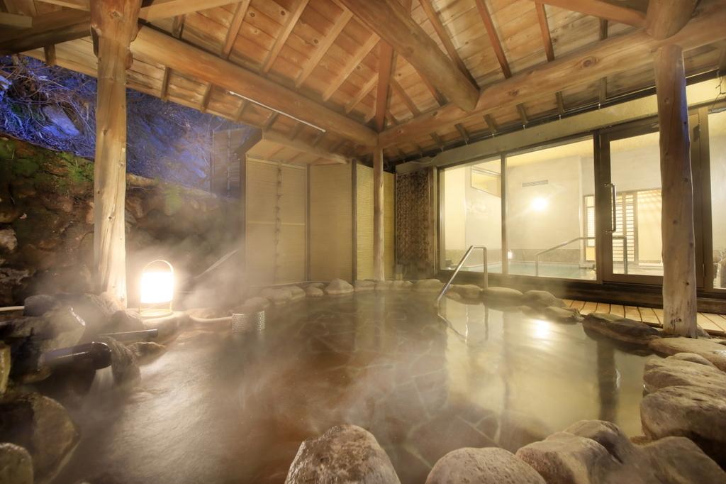 【女性大浴場】情緒たっぷりの露天風呂