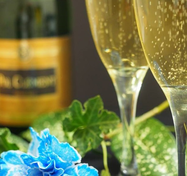 記念日プランスパークリングワイン(イメージ)