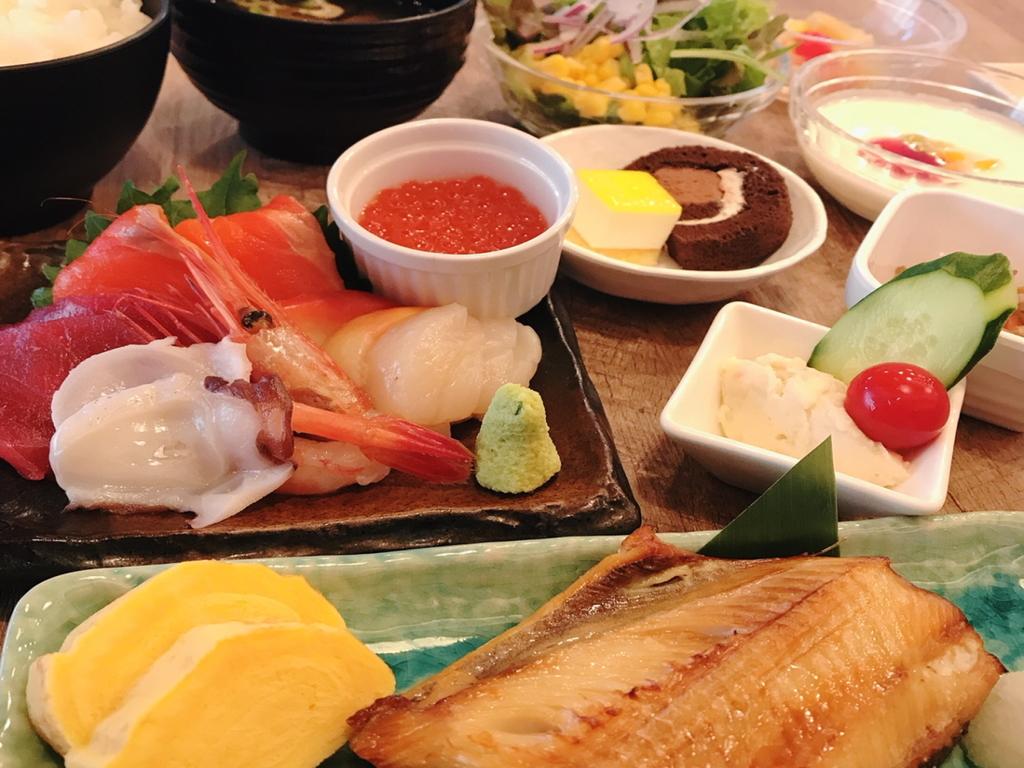海鮮付き和定食 イメージ