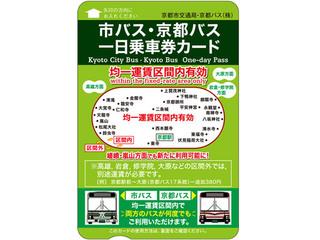 【プランイメージ】市バス・京都バス一日乗車券