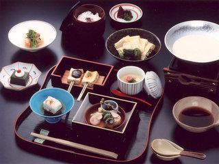 清水「日月庵」お料理一例