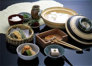 南禅寺「順正」お料理一例
