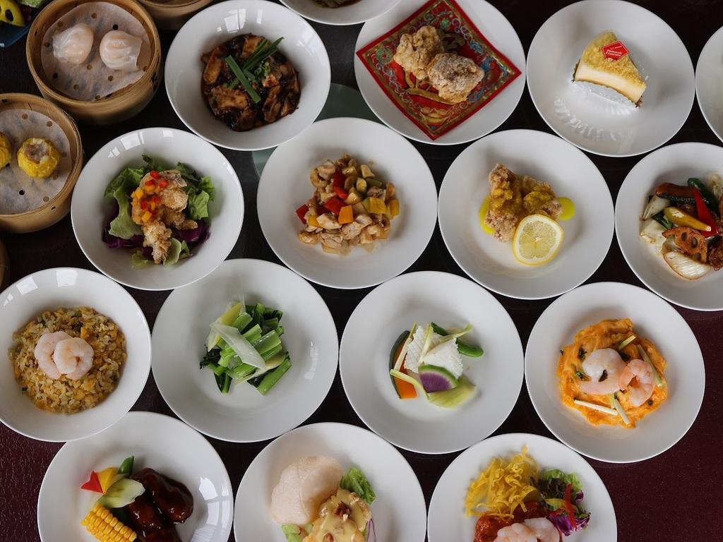 全20種以上!中国料理オーダーバイキング
