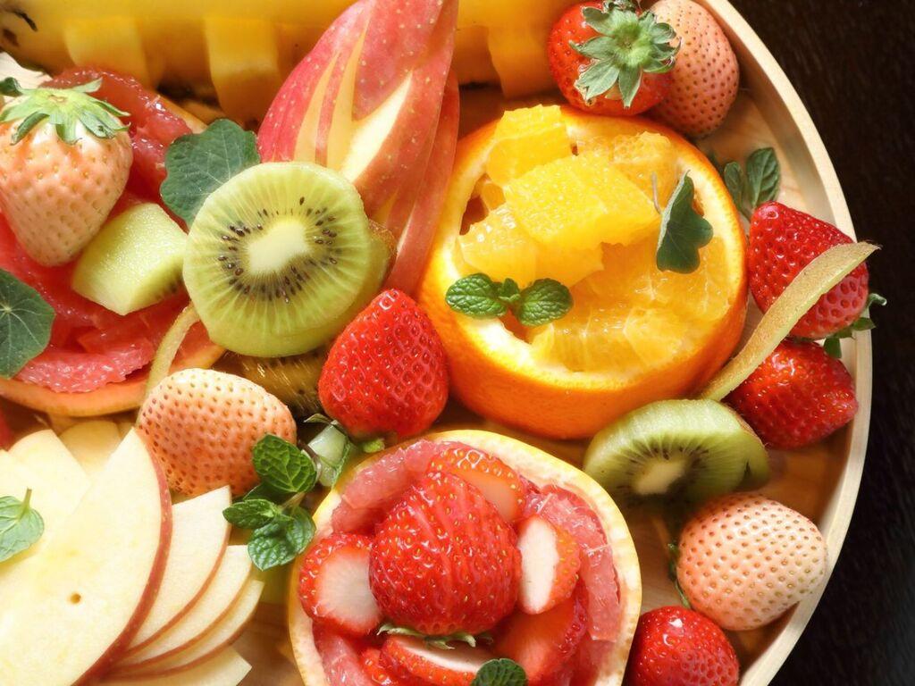 フルーツ盛り イメージ