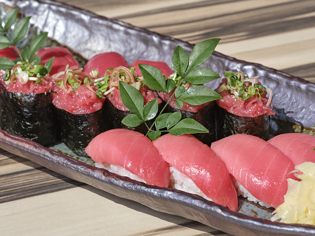 本マグロ寿司