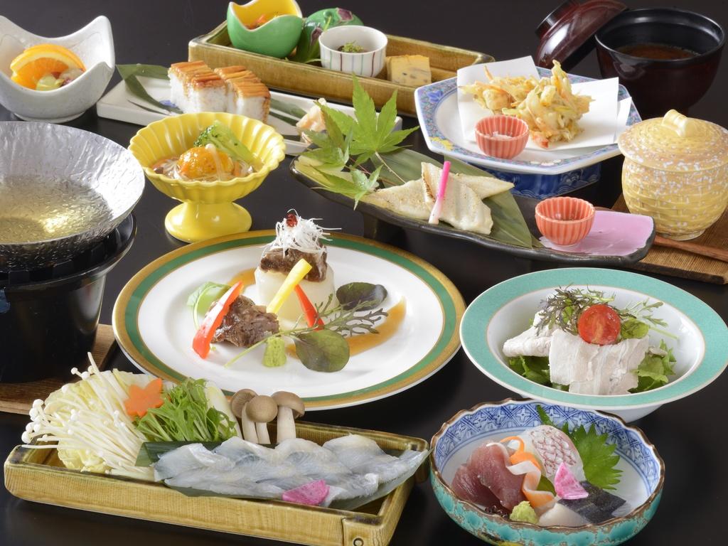 2020年春夏(厳島)海の幸を贅沢にワンランク上の美食会席