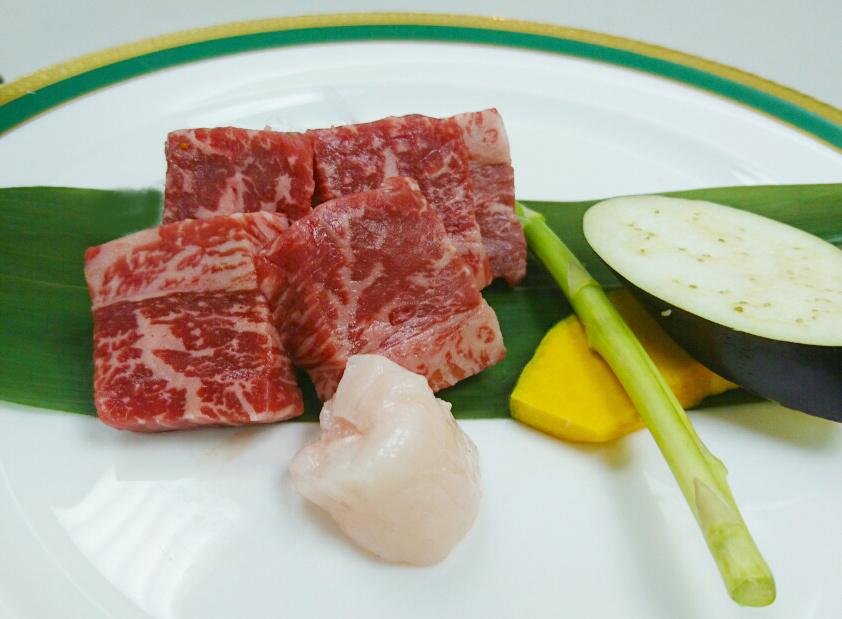 広島牛鉄板焼き(調理前)