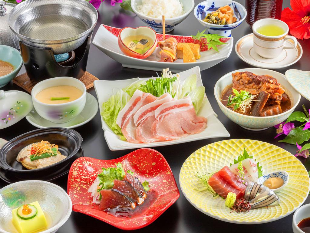 ■薩摩基本会席■薩摩は海の幸も山の幸も豊富で絶品!薩摩グルメをお楽しみください