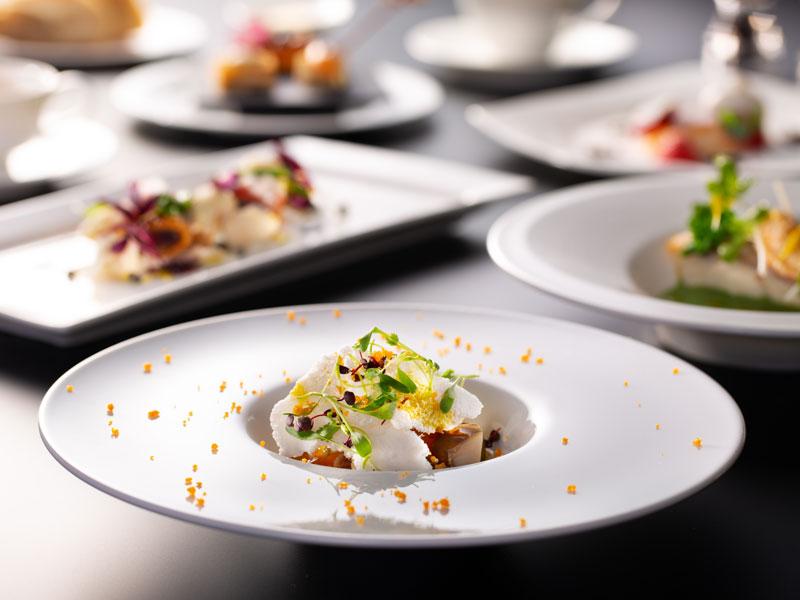 【California Table】ご夕食イメージ〜見た目にも美しい記憶に残るお料理をお愉しみください