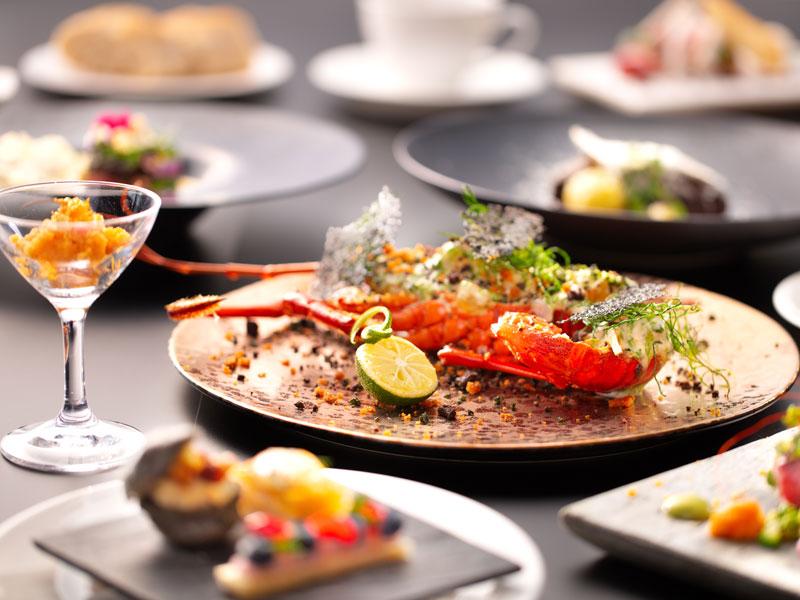 【California Table-Plus】ご夕食イメージ〜季節ごとに旬のお魚をご用意しております