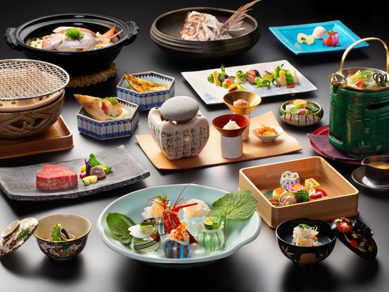 【万里荘-リッジ-】ご夕食イメージ〜事前にご相談の上、お料理を決めさせていただきます