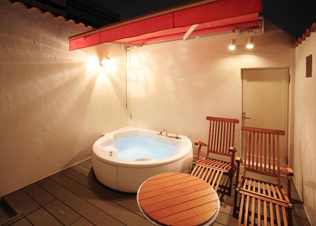 限定4室の露天風呂で優雅なひと時♪