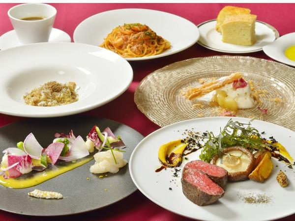 夕食 イタリアンディナー一例