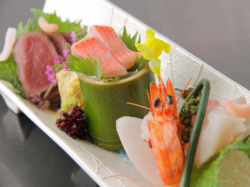 四季を愉しむ和食会席一例