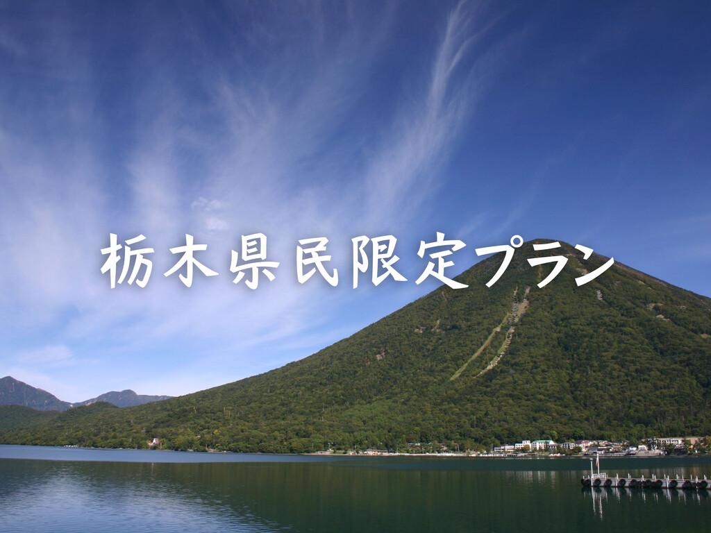 栃木県民限定プラン