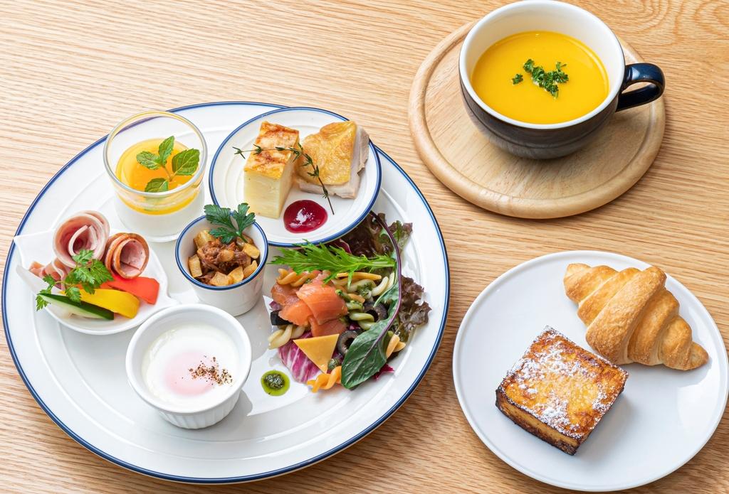 フレンチプレート朝食(夏メニュー)
