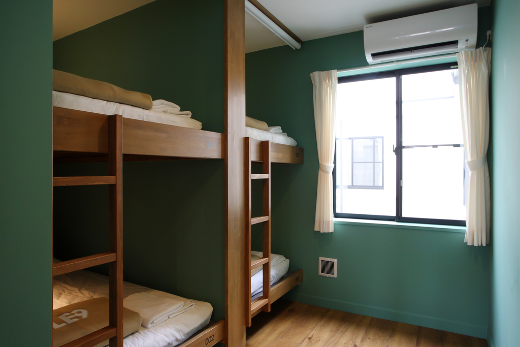 Single Mixed Dorm / Quadruple room