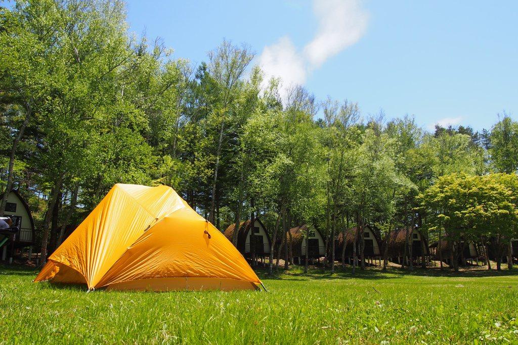 キャンプフリーサイト/キャンプエリア