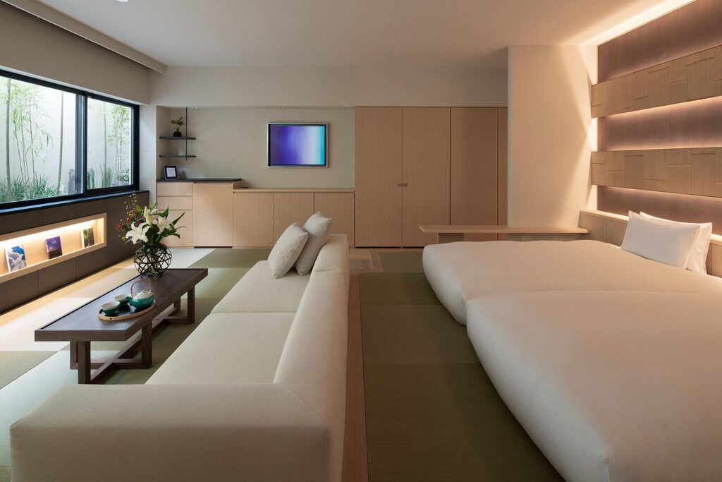 バンブースウィートルーム ごゆっくりとくつろげる空間を提供致します。